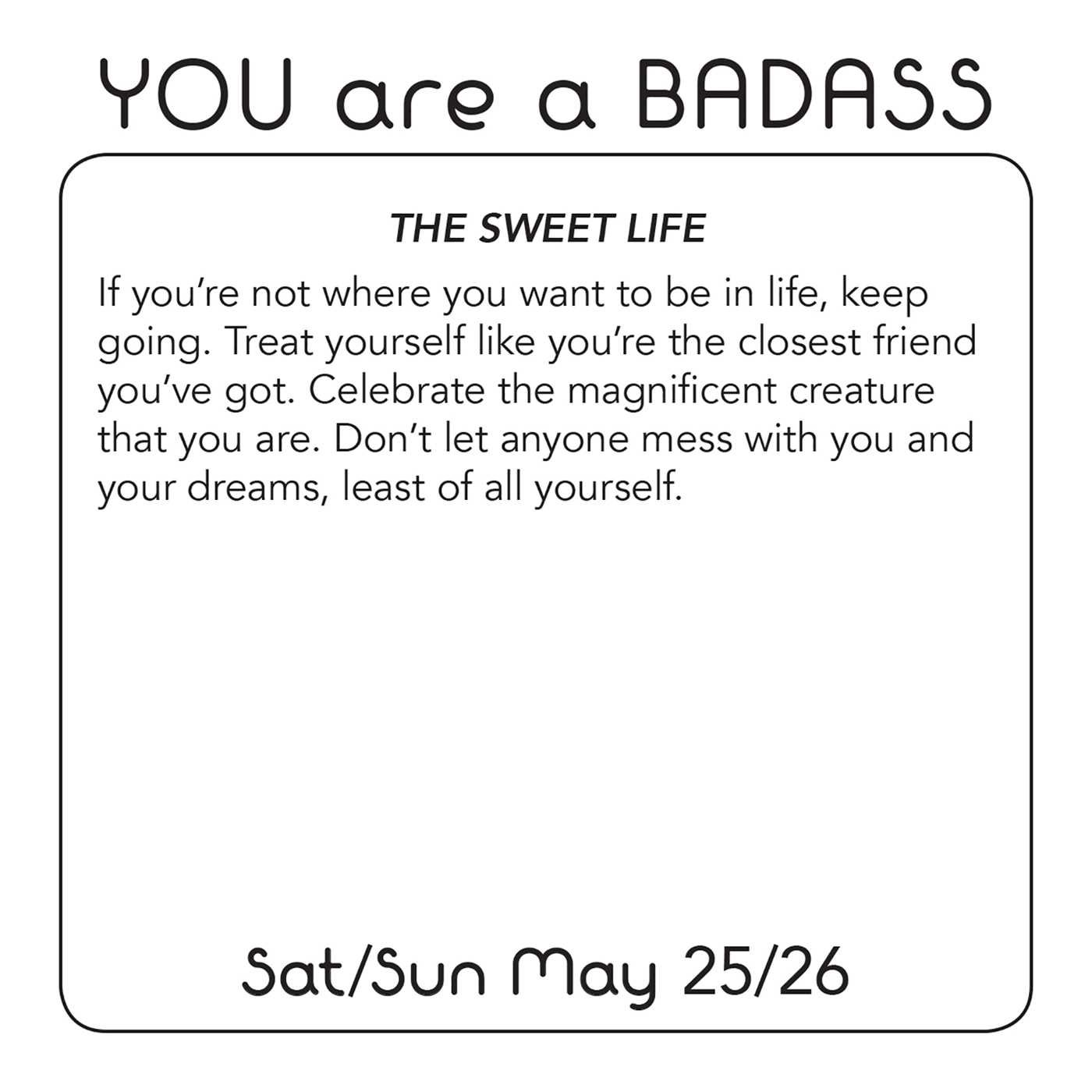 You Are a Badass 2019 Day-to-Day Calendar: Jen Sincero ...