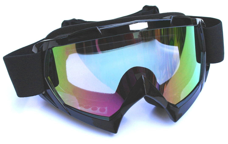 ATO MX1 Black RB extrem leichte und hochflexibel Motocrossbrille Motorradbrille