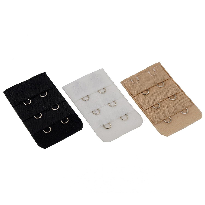 Women Lingerie Accessories Adjustable Bra Extender Straps Clip Color Set, 2 Hooks Princess-J