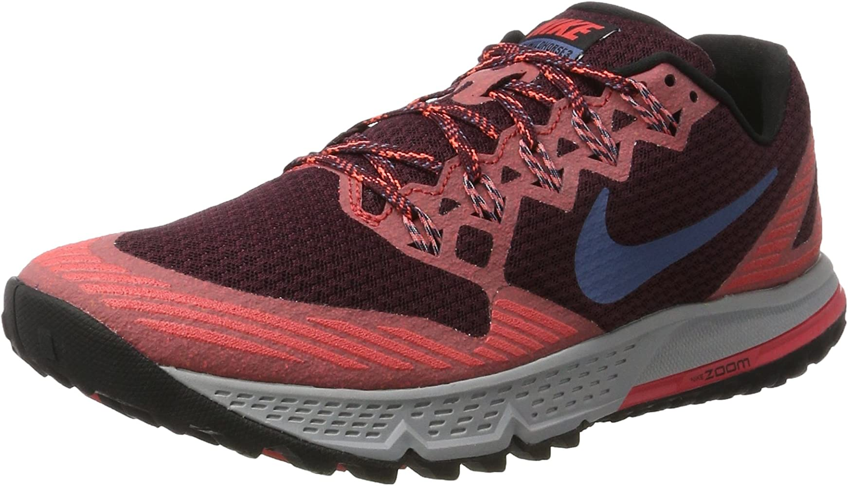 Nike 749336-600, Zapatillas de Trail Running para Hombre, Rojo ...