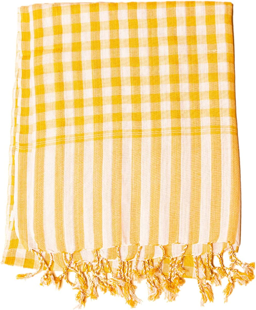 in Various Colours PANASIAM Original Cambodian Krama Scarf Made by NGO Cotton