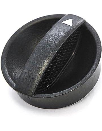 Control Knob Fan Heater 2005-2011 Compatible with Toyota Tacoma Temperature HVAC Black (Orange