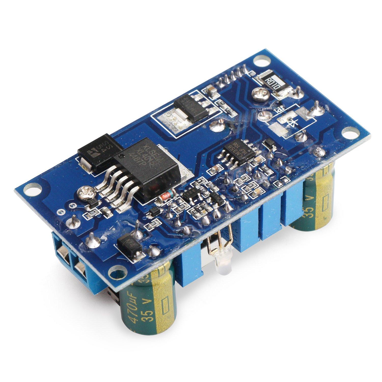 5a Buck Converter Drok Voltage Regulator Board Dc 6 36v Circuit Power Additionally 48v To 12v In Down 125 32v Constant Current Mppt Solar Controller Module 24v 5v