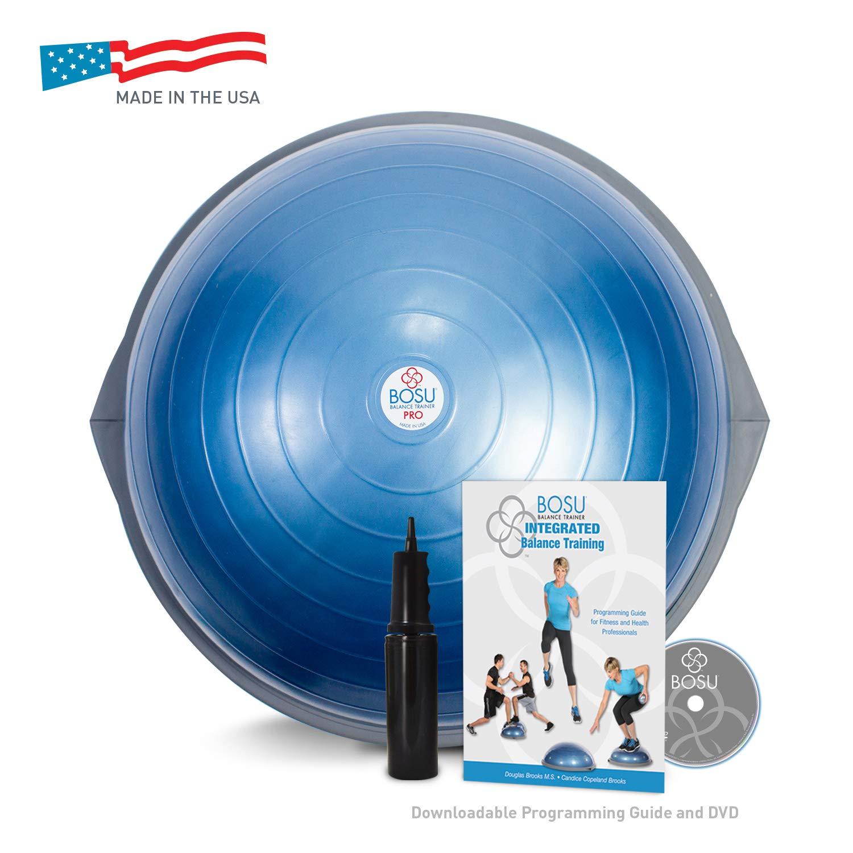 BOSU(ボス) バランストレーナー プロバージョン 65cm DVD ポンプ付き  Blue B00BL83I22