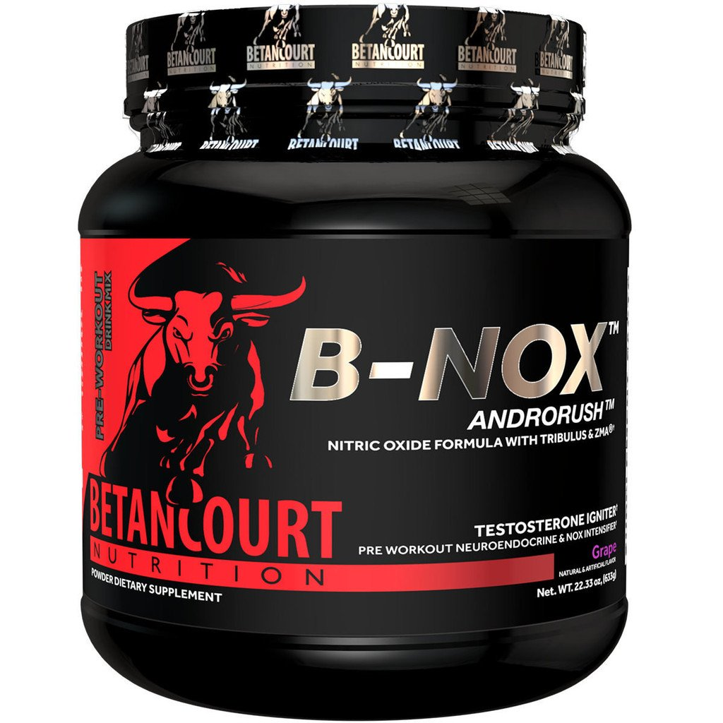 Betancourt Bullnox Androrush Pre Workout Powder