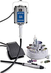 Quick Change Jewelers Kit w/FCT Foot Pedal - K-2220