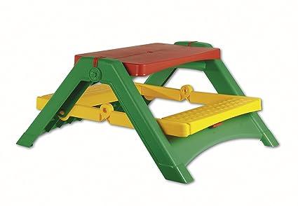 Amazon.com: Tot infantil juguete, plegable Mesa de picnic ...