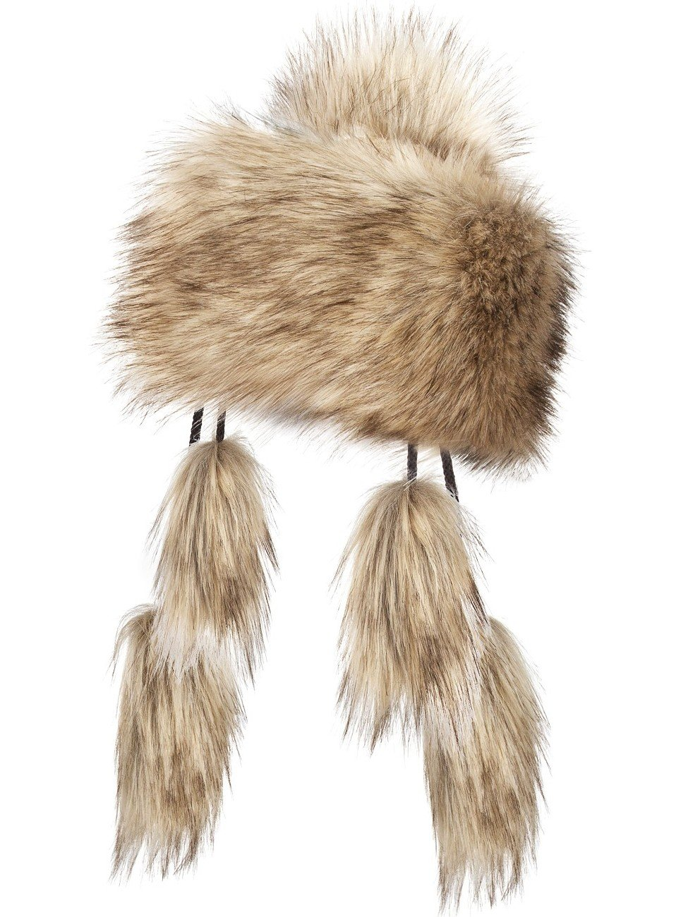 Futrzane Mongolian Faux Fox Fur Winter Hat Women Russian Cossack Pompom Futrzane-mongolka-15
