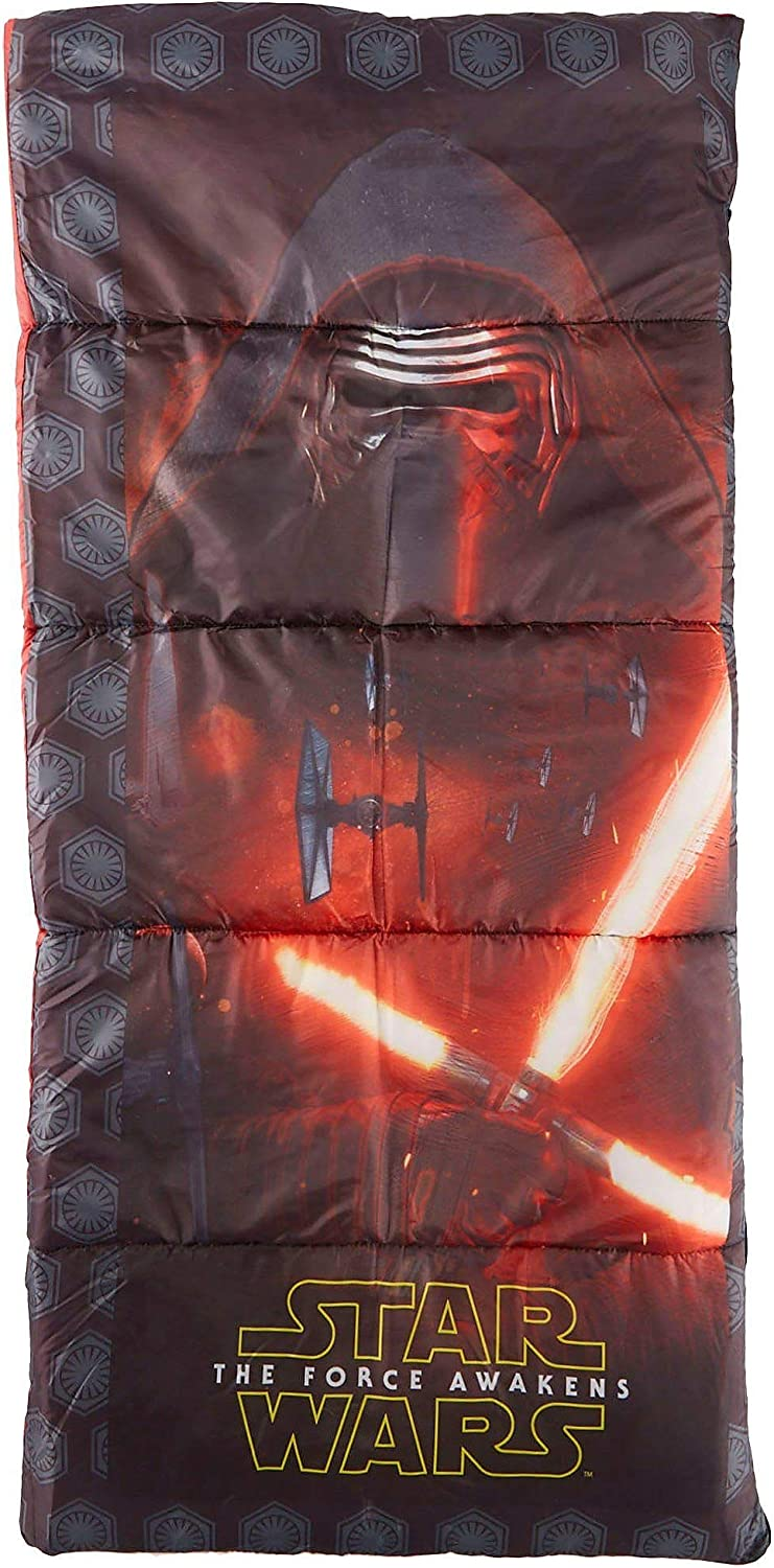 Exxel Star Wars 7 The Force Awakens Kids Camp Sleeping Bag