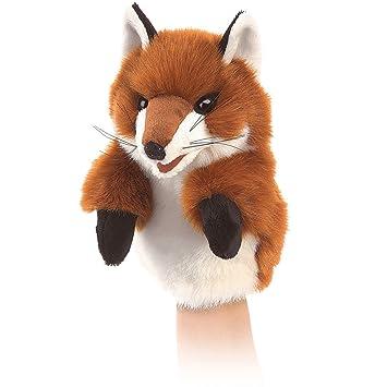 Folkmanis – Marioneta – Little Fox nuevos juguetes peluche suave muñeca 30856