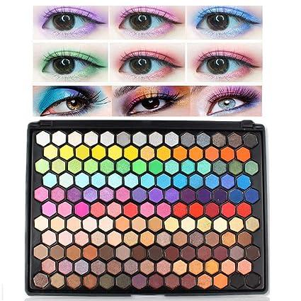 ISMINE Sombra de Ojos de Color Mezclado Mate Brillante de ...