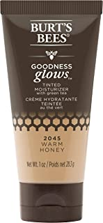 product image for Burt's Bees Goodness Glows Tinted Moisturizer, Rich in Antioxidants, Warm Honey, 1.0 Ounce