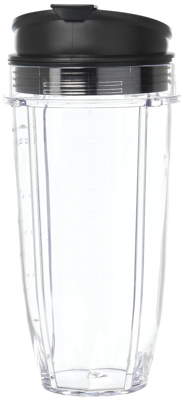 Nutri Ninja 24 oz Tritan Cups with Sip & Seal Lids. Compatible with BL480, BL490, BL640, & BL680 Auto IQ Series Blenders (Pack of 2) Best Accessories BA-NNJ24SSL/2