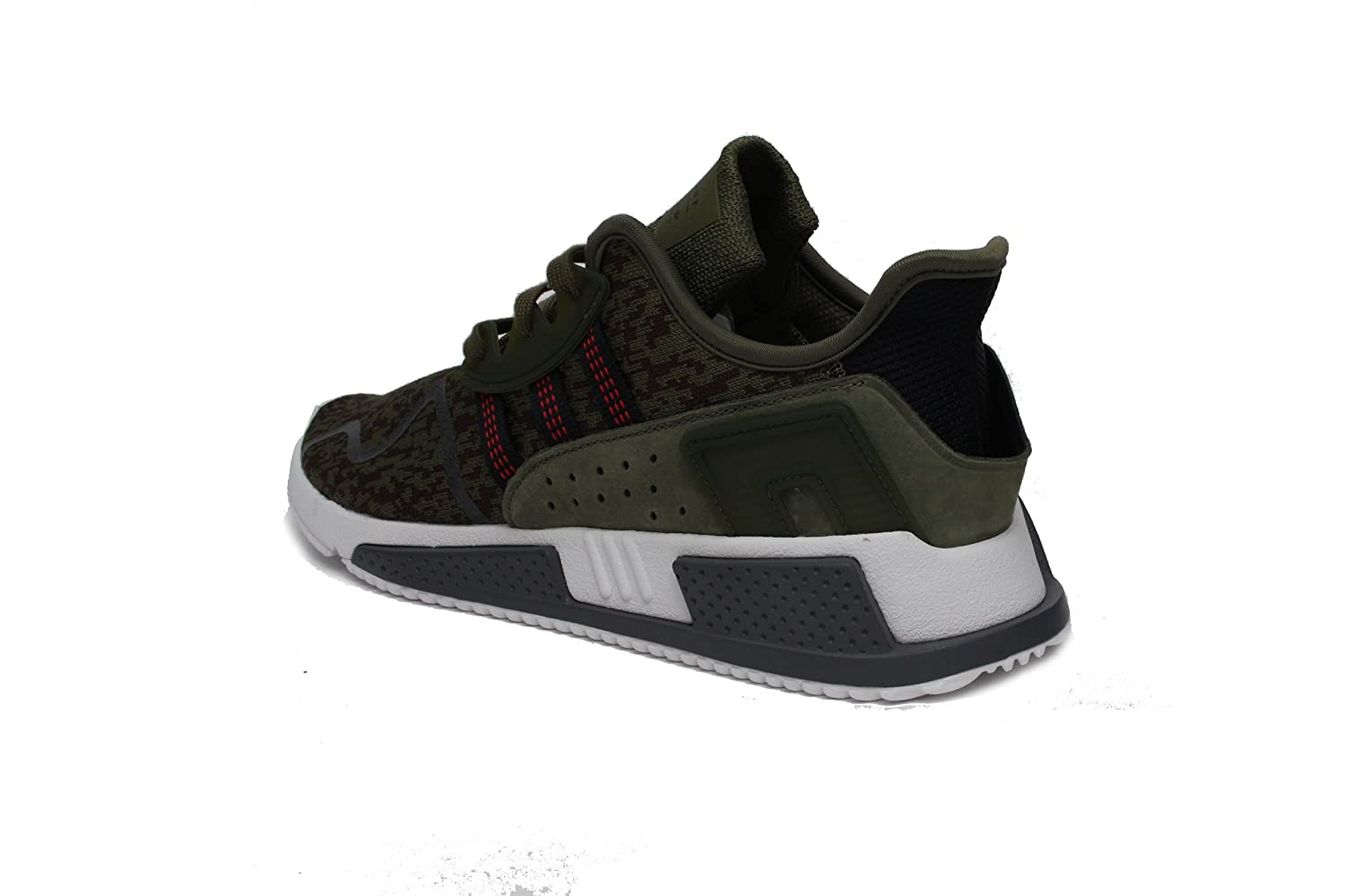 huge selection of 30661 4d0ef Amazon.com  adidas Mens EQT Cushion ADV Athletic  Sneakers Green   Fashion Sneakers