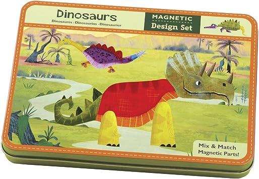 MudPuppy - Caja magnética con Dinosaurios (MPCM31297): Amazon.es ...