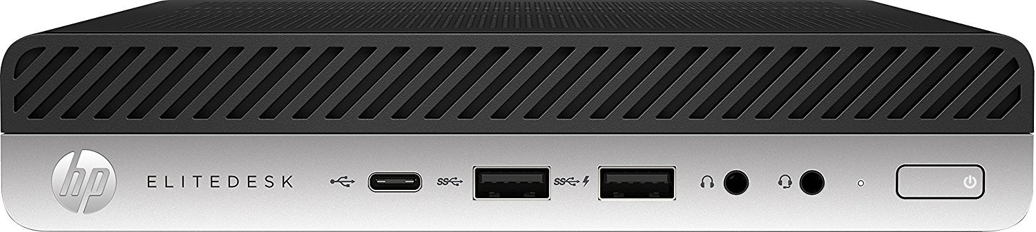 HP EliteDesk 800 G3 Mini - Intel Core i5 6500 up to 3.6GHz, 8GB DDR4, 256GB NVMe SSD, Wireless Dual Band 11AC & BT4.2, Windows 10 Pro