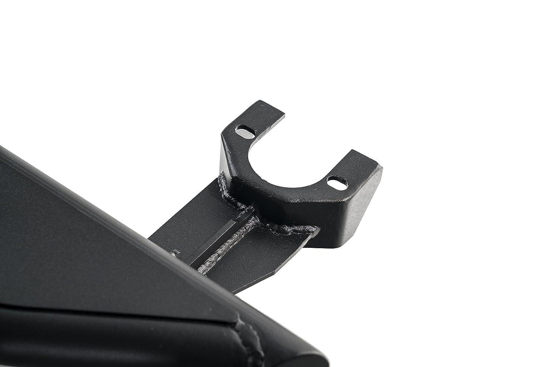 Havoc HSX Rock Sliders 3-Tube 2007-2018 Jeep Wrangler JK 4 Door Black