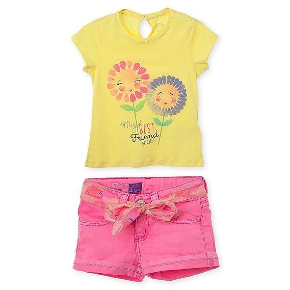 Amazon.com: OFFCORSS Toddler Girl Spring and Summer Outfit Conjunto de Niñas 12 M - 3T: Clothing
