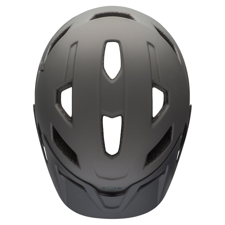 Bell Sidetrack Youth Bike Helmet - Kid's Matte Titanium Shark by Bell (Image #4)