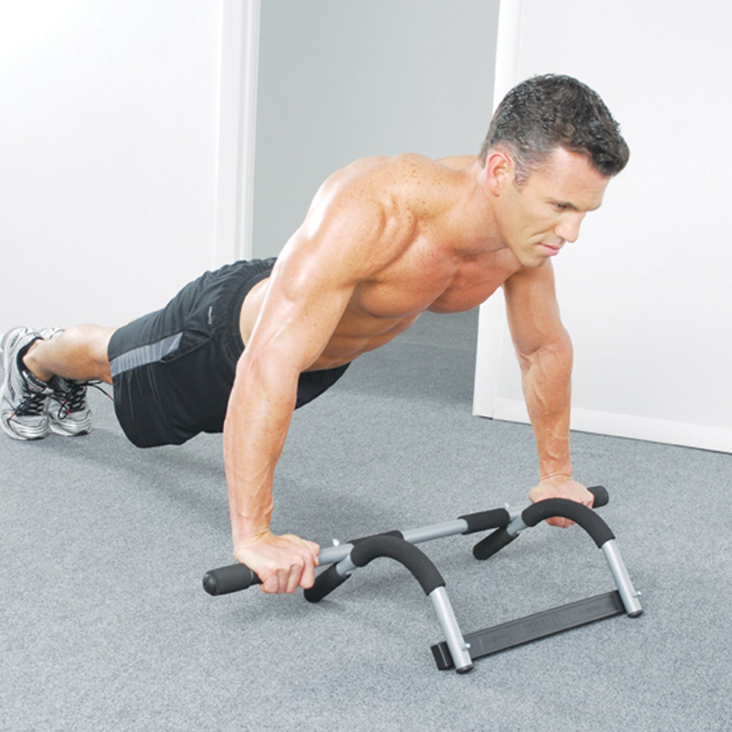 Image result for man working out at home upper body part