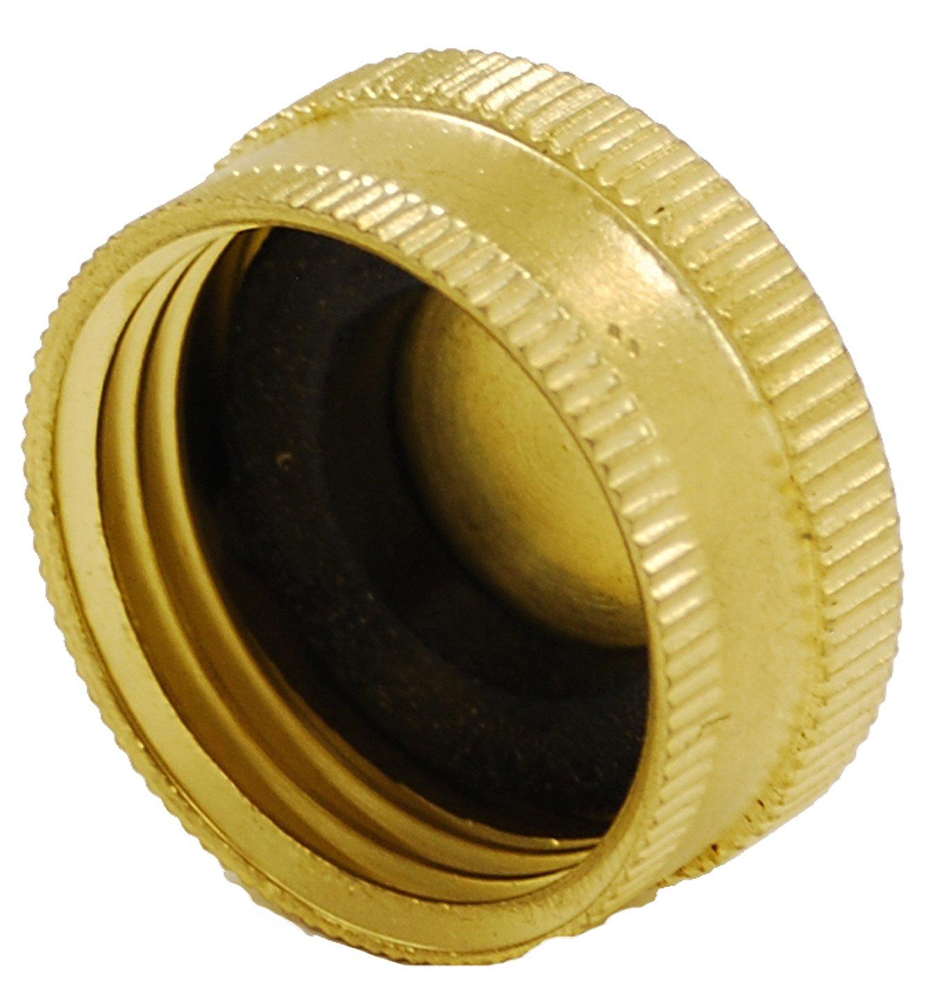 Amazon.com : Gilmour Brass Hose Caps 05HCC : Garden Hose Parts ...