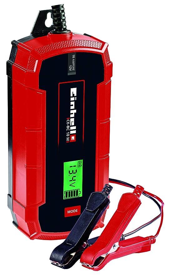 Einhell 1002245 Cargador de baterías, Rojo, Negro: Amazon.es ...