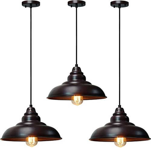 3 Pack Barn Pendant Light