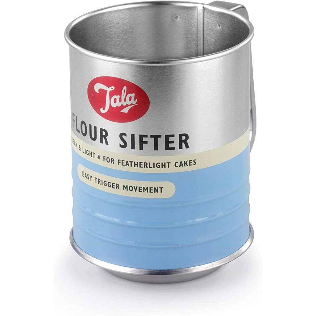 Tala Retro Flour Sifter Duck Egg Blue