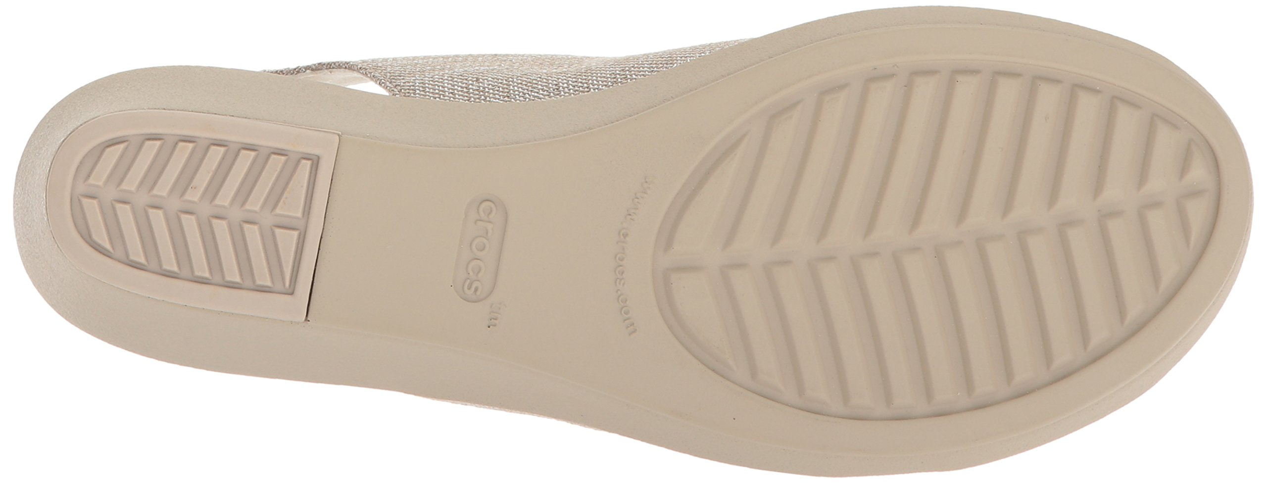 0e71f973728d Crocs Women s Leigh Ann Shimer Slngbck WDG W Wedge Sandal