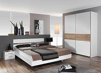 lifestyle4living Schlafzimmer, Schlafzimmermöbel, Set, Komplett ...