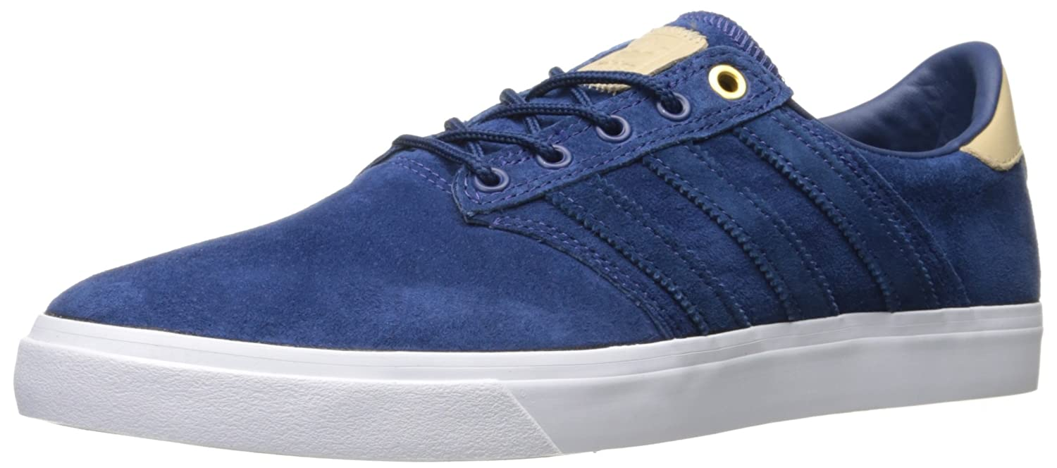 adidas Originals Men\'s Seeley Premiere Classified Fashion Sneaker Mystery Blue Supplier Colour/White