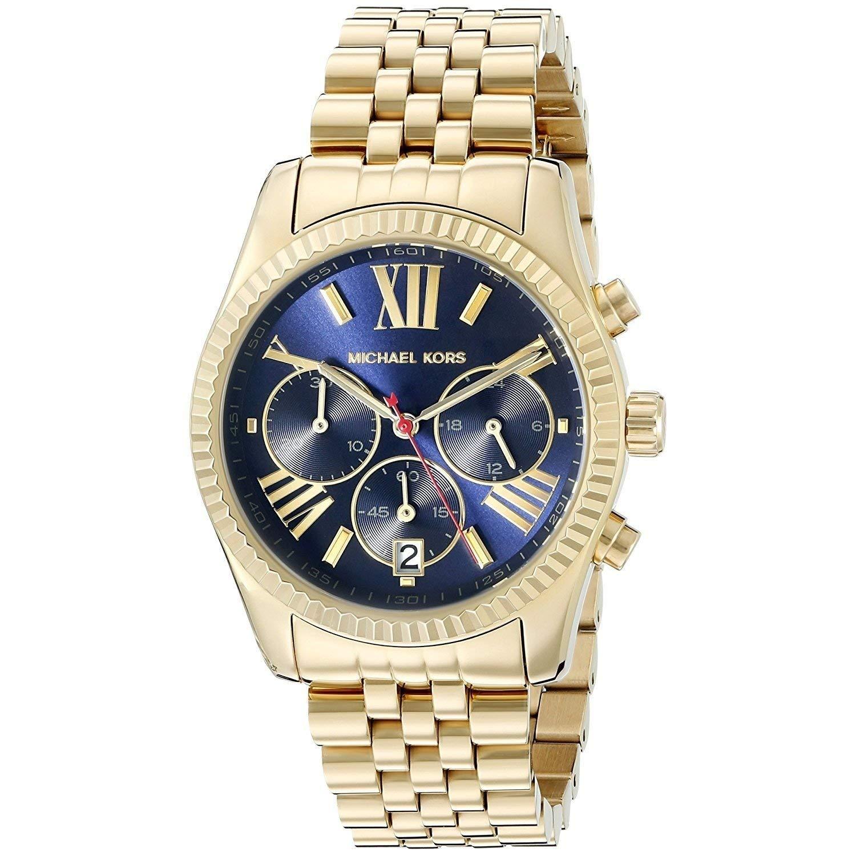 580667e213c9 Amazon.com: Michael Kors Women's Lexington Gold-Tone Watch MK6206: Michael  Kors: Watches