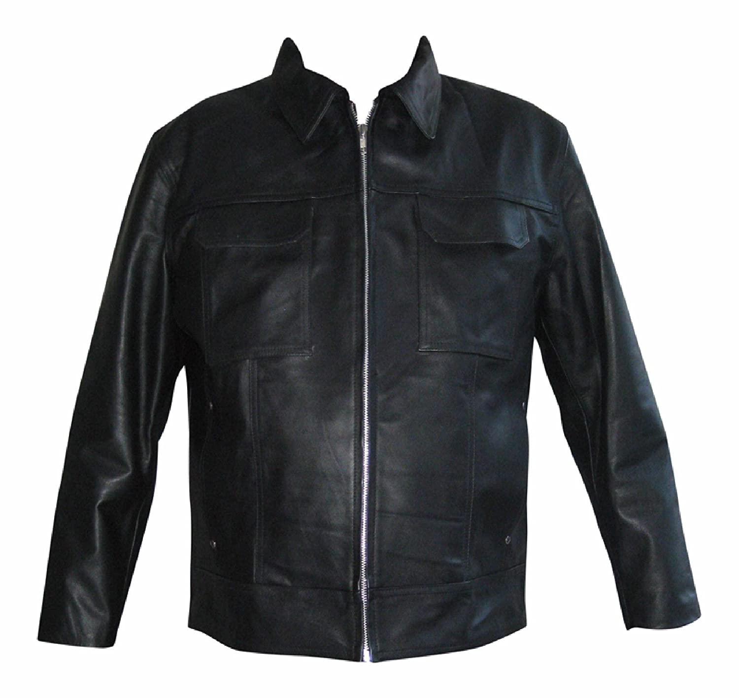 Men's Real Hide Leather Jacket S - 10X