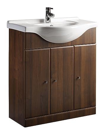 Roper Rhodes Esprit Dark Walnut Vanity Bathroom Unit Without Sink. Roper Rhodes Esprit Dark Walnut Vanity Bathroom Unit Without Sink
