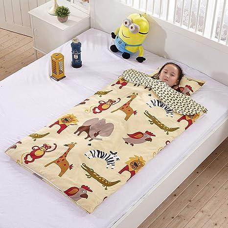 Saco de dormir para bebés, edredón de algodón antideslizante para niños, saco de dormir para bebés de 0-12 años-F_65x100cm dormir saco de dormir: Amazon.es: Bebé