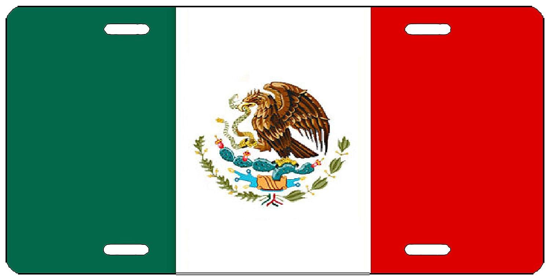 Rogue River Tactique Mexique Drapeau Mexicain de Plaque dimmatriculation en Forme Automatique de Voiture Tag Vanity Cadeau