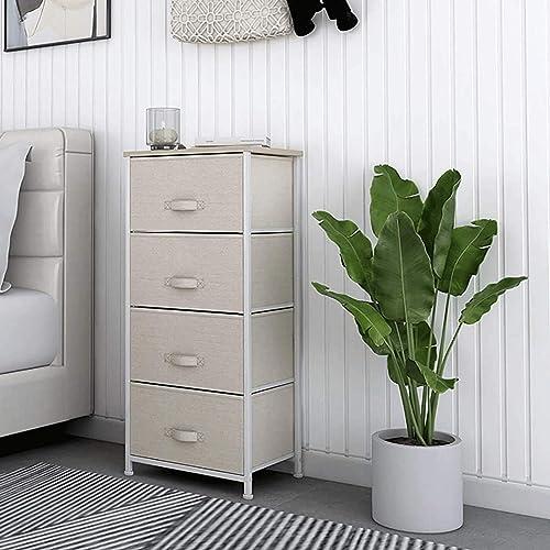 HOMOKUS 4 Drawer Tall Dressers