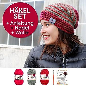 Myboshi Häkelset Mütze S152 A5 Mit Wolle Und Häkelnadel Zum