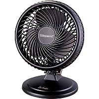 """Sunbeam 8"""" Blizzard Power Fan, Black"""