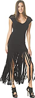 product image for Eva Varro Women's Fringe Dress