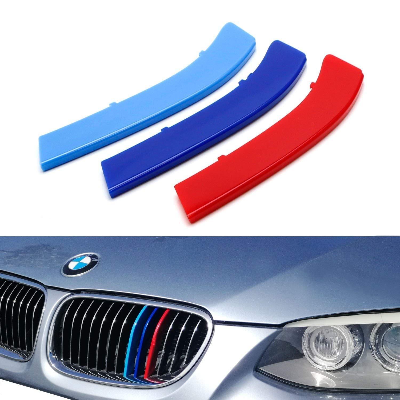 LCI 2010/ /13 m-colore griglia ABS Stripe inserti per 3er E92/E93/Rene griglie