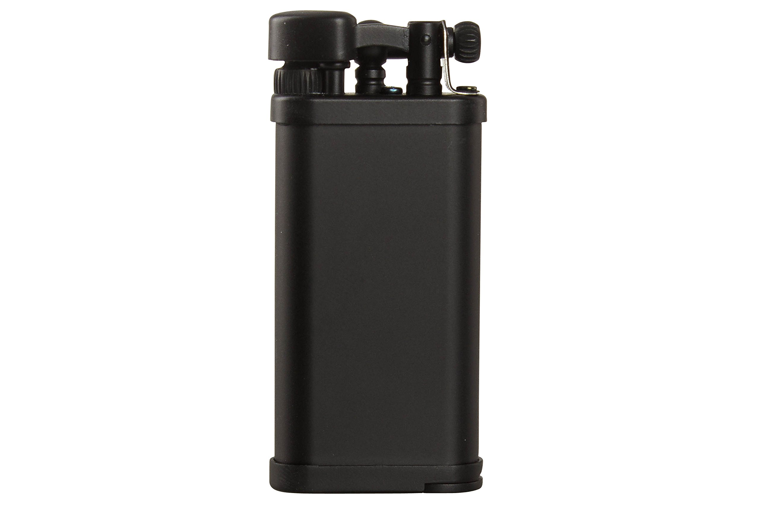 IM Corona Old Boy Black Matte Pipe Lighter