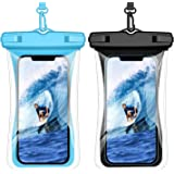 Weuiean Waterproof Phone Case Floating Waterproof Phone Bag, Lanyard Phone Dry Bag for iPhone 12/11/SE/XS/XR 8/7Plus, Samsung