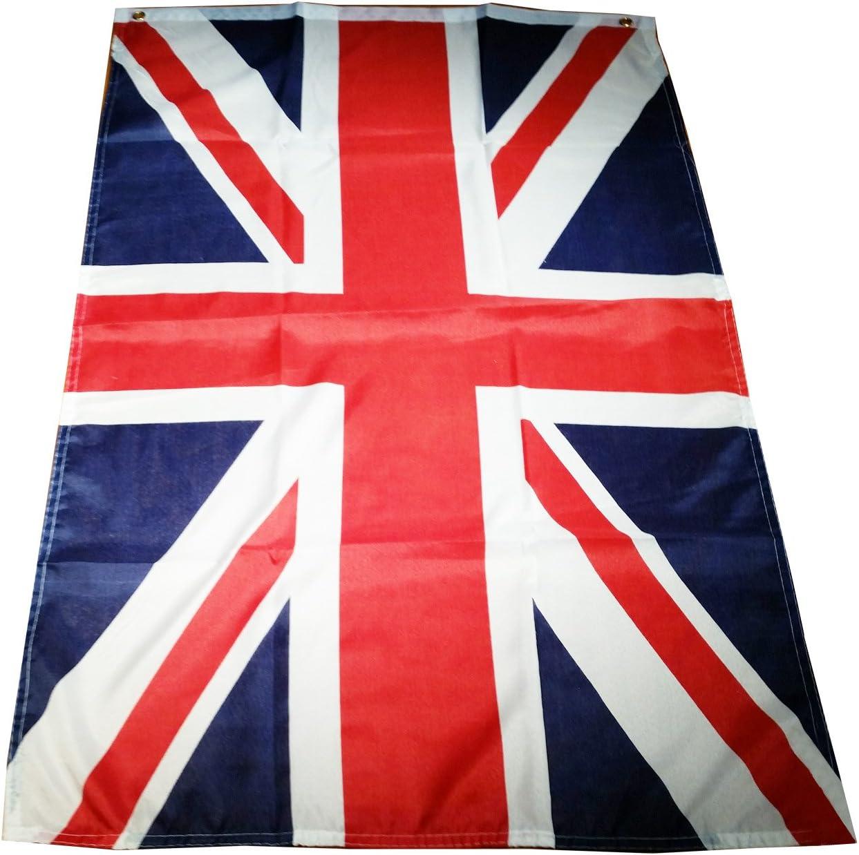 Qualité Premium 5 FT 5/'X3/' Drapeau Union Jack Britannique x 3 ft environ 1.52 m environ 0.91 m