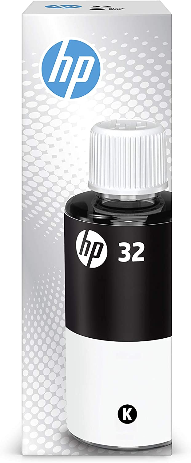 HP 32XL Black Ink Bottle, 135ml (1VV24AN)