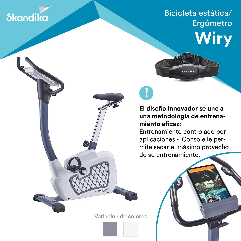 skandika Wiry - Ergómetro/Bicicleta Estática - Bluetooth - 24 ...