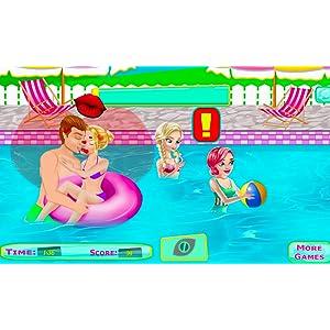 Beso adorable de la piscina de los pares: Amazon.es: Appstore para ...