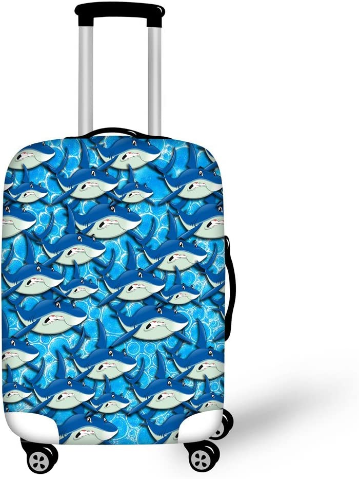 Showudesigns 18-28 inch Bird Designer Suitcase Dust Cover for Trolley Luggage