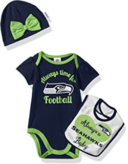 825533600 Amazon.com   NFL Seattle Seahawks Baby-Girls 2-Piece Football Dress ...