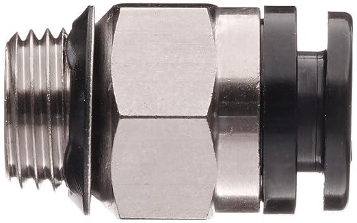 SMC KA Series Brass Anti-Static Push-to-Connect Tube Fitting Connector 6mm Tube OD x 1//8 UNI Thread Male 6mm Tube OD x 1//8 UNI Thread Male SMC Corporation of America KAH06-U01